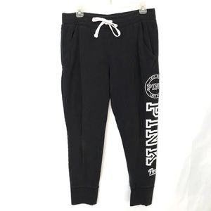 VS Love Pink Tapered Ankle Joggers